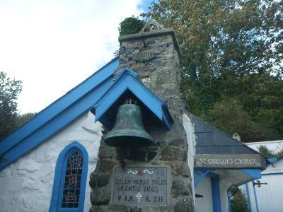 The church in Portbraddon.