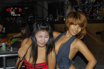 Thai Girls - not exactly the shyest females on the planet!