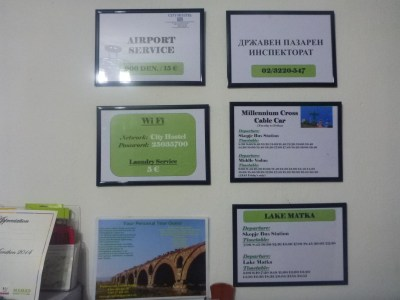 Wifi and Facilities on the hostel