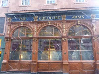 The Guildford Arms - the local.