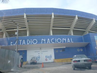 Nacional Stadium in Tegucigalpa, Honduras.