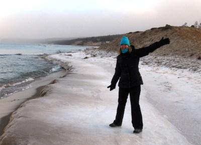 World Travellers: Katie Aune On Olkhon Island in Lake Baikal in Siberia