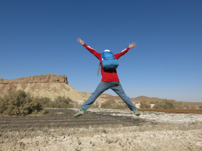 Backpacking in Iran: Kalate Talkh Desert Oasis