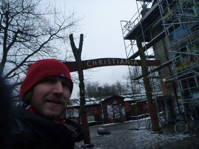 The main entrance and Christiania Archway.