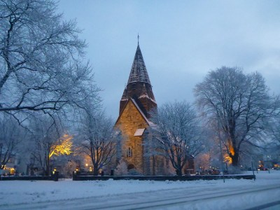 The marvellous church in Voss