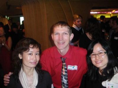 Working on Hong Kong Island with Bibi and Cara at Internations