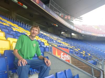 In the Camp Nou