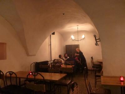 Porgu bar is hidden in a bunker underground.