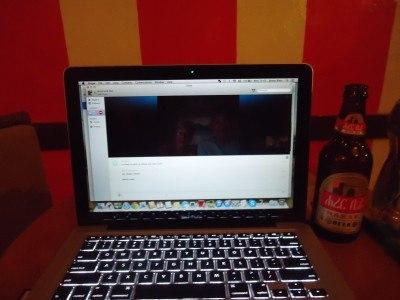 Skypeing in Addis Ababa, Ethiopia