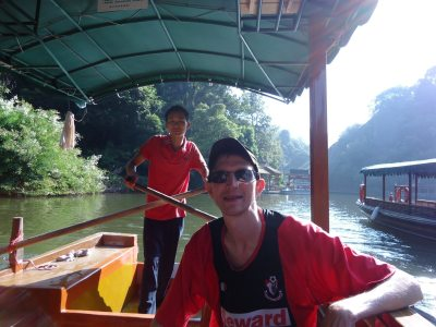 On a slow boat through China
