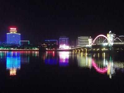 Nightfall in wonderful Kaiping