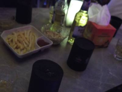 Chips and beers in Kaiping, China