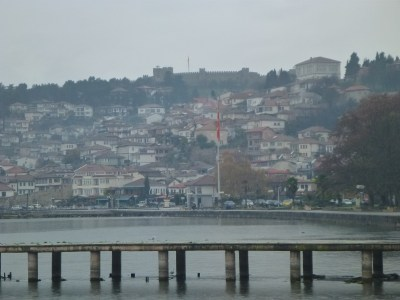 The town of Ohrid in Macedonia