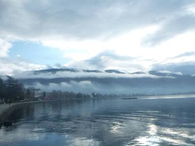 Ohrid Harbour, Macedonia