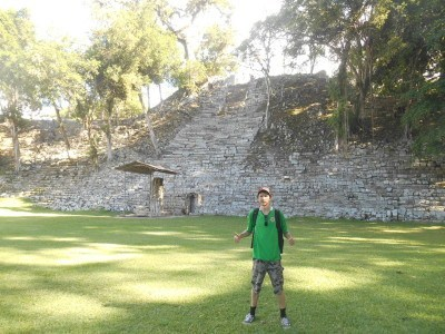 The marvellous ruins of Copan, Honduras