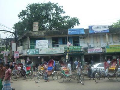 Dhaka never stands still