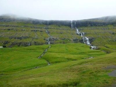 Waterfalls at Saksun, Streymoy, Faroe Islands