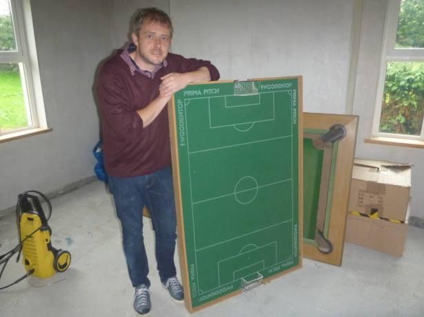 Simon Stewart and the former National Stadium of Podjistan.