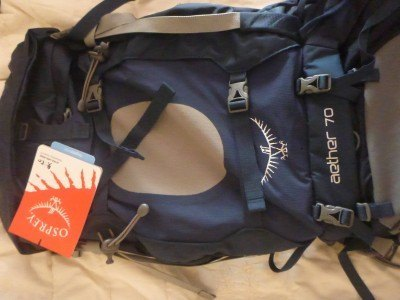 Tuesday's Travel Essentials: My New Rucksack - An Osprey Aether 70