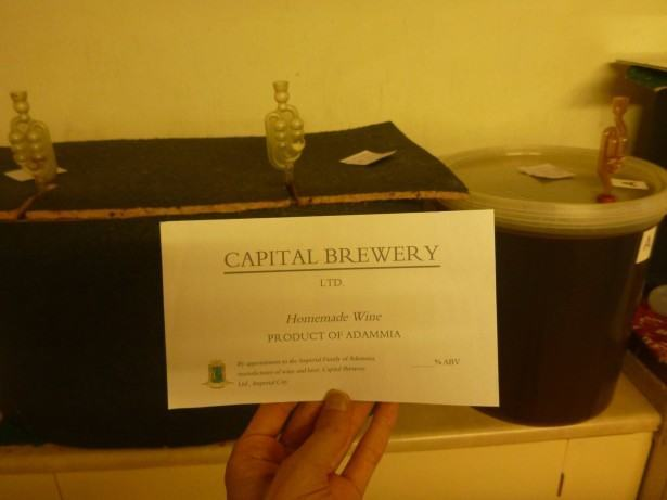 Thirsty Thursdays: Drinking Wine in Capital Brewery, Tytannia Province, Adammia