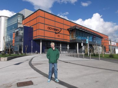 Touring Belfast City - the Odyssey Centre