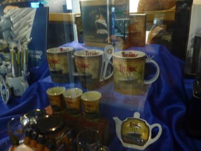 Titanic souvenirs