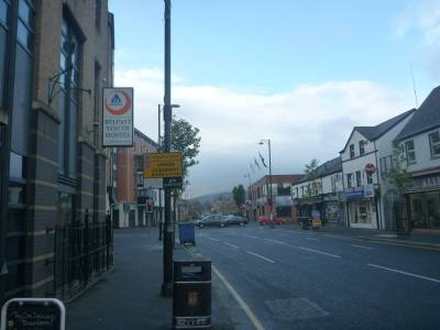 Hostel is located on the Donegall Road, near Great Victoria Street and downtown Belfast