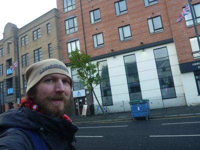Arrival at Belfast International Hostel