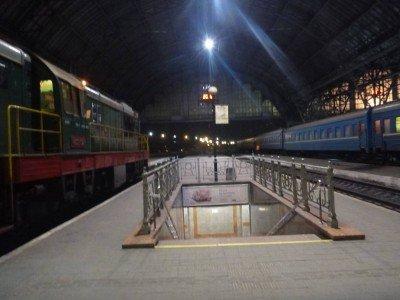 Arrival in Lviv, Ukraine