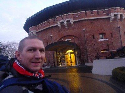 Arrival at the Citadel Inn in Lviv, Ukraine