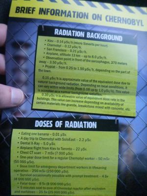 Our background sheet about radiation