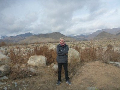 Arrival at the Petroglyphs nature reserve