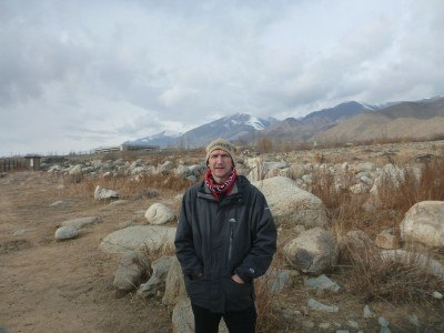 Backpacking in Kyrgyzstan: Visiting Petroglyphs near Cholpon Ata