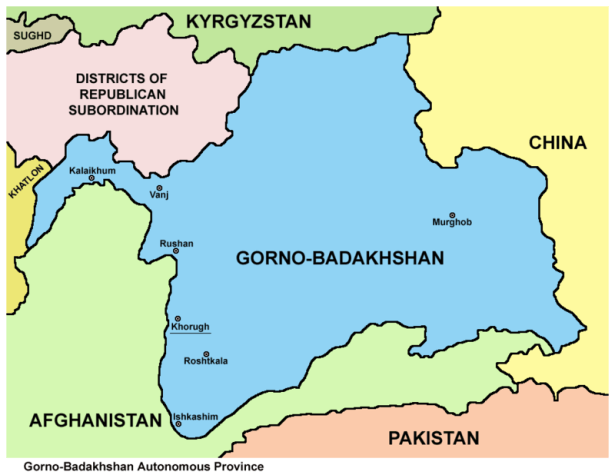 World Borders: How to Get From Dushanbe to Khorog (To Gorno Badakhshan Within Tajikistan)