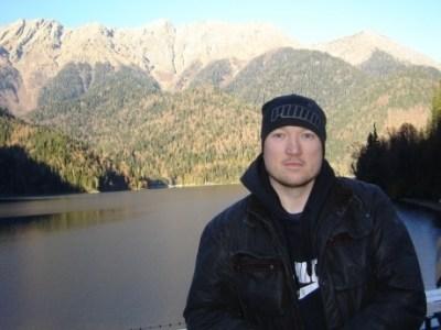 Pol at Lake_Ritsa_Abkhazia