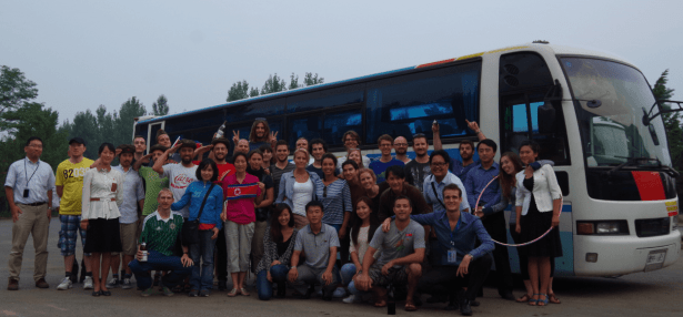 Our Tour Group in North Korea with YPT 2013