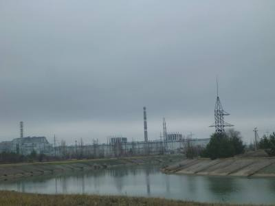 "A ""river"" in Chernobyl"