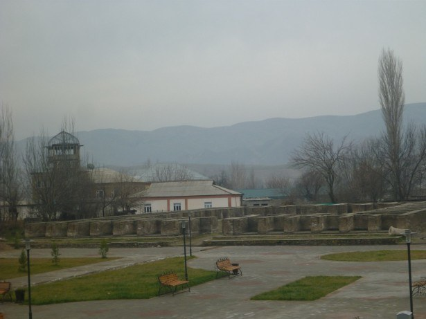 The Caravansari in Hisor