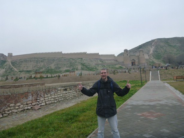 Backpacking in Tajikistan: Touring Hissar Fort with Travel in Tajikistan