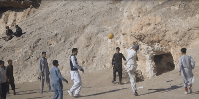 The Day I...Lobbed the Goalkeeper From 30 Yards in Afghanistan