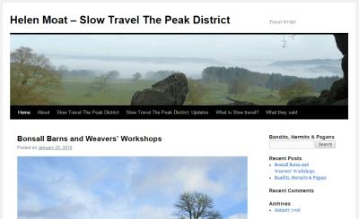 Helen Moat travel blog