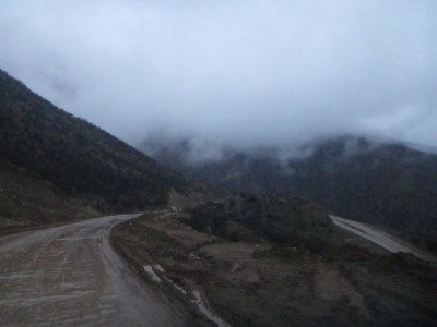 The road to Khorog, Gorno Badakhshan.