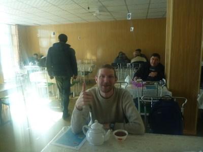 Relaxing at Cafe Jamantal