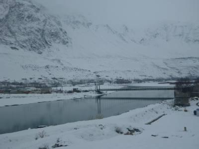 My view of Afghanistan from Khorog, Gorno Badakhshan, Tajikistan