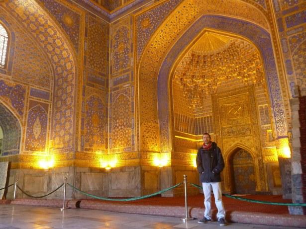 Inside the Friday Mosque, Registan, Samarkand City