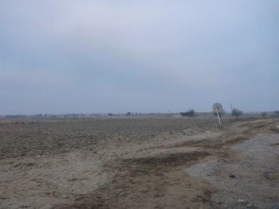 One last glance back at the Uzbekistan side of the border