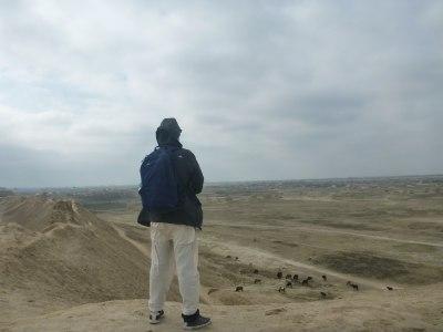 Backpacking in Balkh, Afghanistan