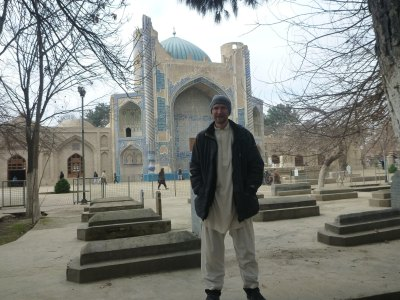 Touring Balkh in Afghanistan