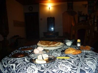 Mammoth breakfast here at Hotel Xiva Atabek