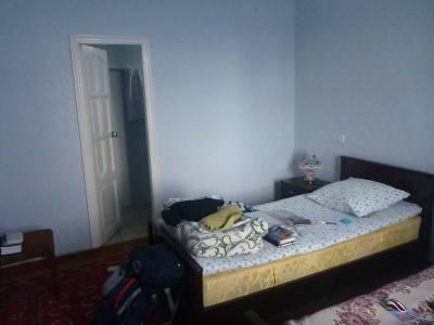 My warm winter room at Gulnara Guesthouse in Tashkent, Uzbekistan